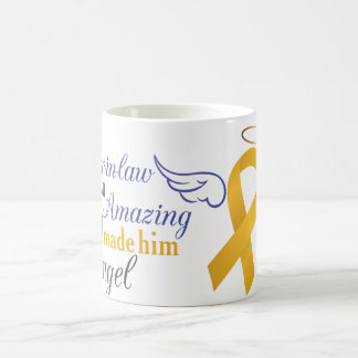 My Brother-In-Law An Angel - Appendix Cancer Coffee Mug