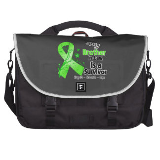 My Brother-in-Law is a Lymphoma Survivor Laptop Messenger Bag