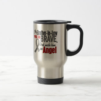My Brother-In-Law Is An Angel 1 Brain Cancer Coffee Mugs