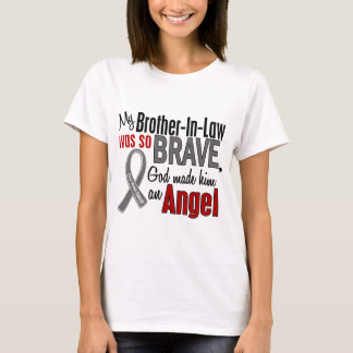 My Brother-In-Law Is An Angel 1 Brain Cancer T-Shirt