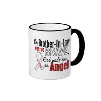 My Brother-In-Law Is An Angel Lung Cancer Mugs