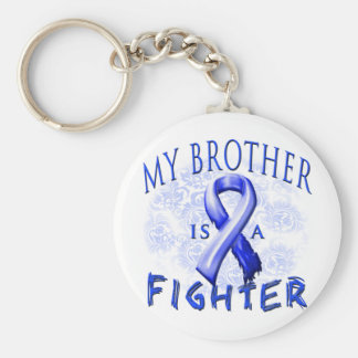 My Brother Is A Fighter Blue Key Chains