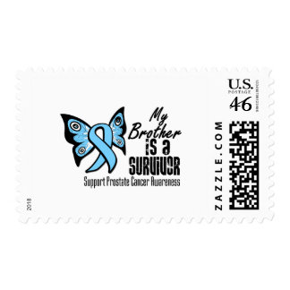 My Brother is a Survivor - Prostate Cancer Postage