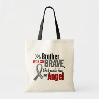 My Brother Is An Angel 1 Brain Cancer Tote Bag