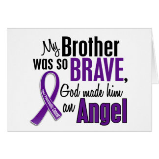 My Brother Is An Angel Pancreatic Cancer Cards