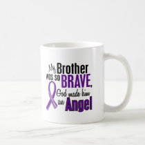 My Brother Is An Angel Pancreatic Cancer Coffee Mug