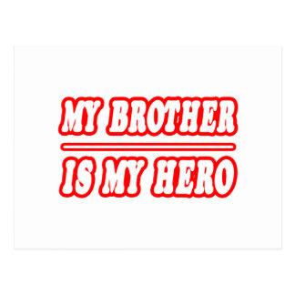 My Brother Is My Hero Postcards