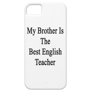 My Brother Is The Best English Teacher Cover For iPhone 5/5S