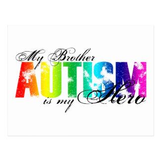 My Brother My Hero - Autism Postcard