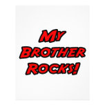 My Brother Rocks Custom Flyer