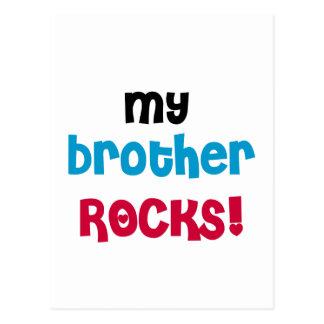 My Brother Rocks T-shirts and Gifts Postcard
