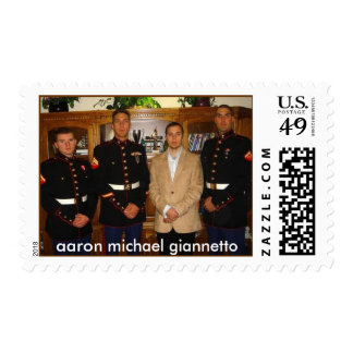 my brothers, aaron michael giannetto postage