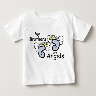 My Brothers Are Angels Baby T-Shirt