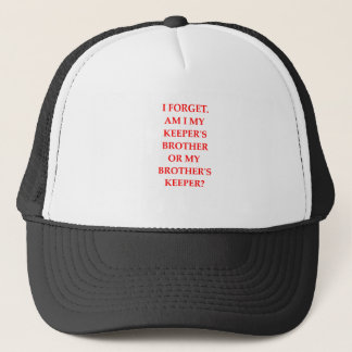 my brother's keeper trucker hat