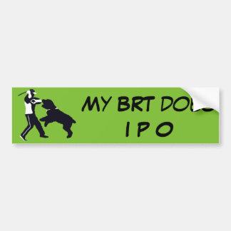 My BRT does IPO Bumper Sticker