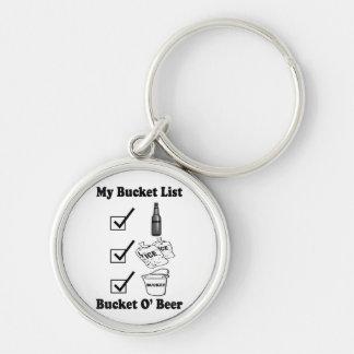 My Bucket List - Bucket O' Beer Keychain