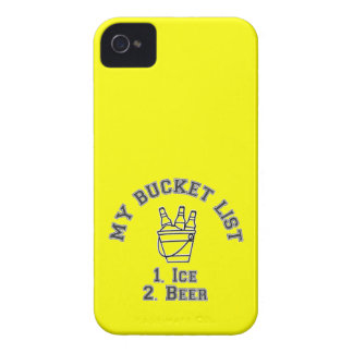 My Bucket List Humor - Ice & Beer Case-Mate iPhone 4 Case