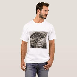 My Buddy Beagle Puppy Photographic Art T-Shirt