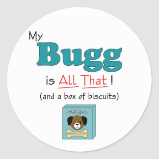 My Bugg is All That! Round Stickers
