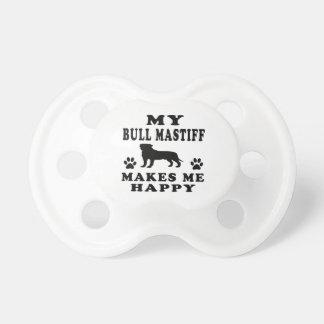 My Bullmastiff Makes Me Happy Pacifier