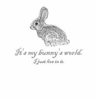 My Bunny's World Photo Sculpture