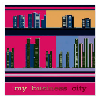 my business city poster