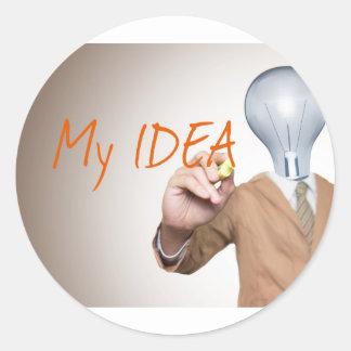 My Business Idea | Entrepreneurs, Boss, Startups Stickers