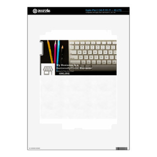 My Business Is A Business By Phone Business iPad 3 Skin
