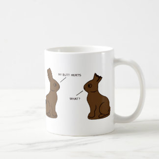 My butt hurts coffee mug