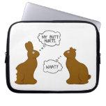 My Butt Hurts | Easter Bunnies Computer Sleeve