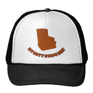 My Butt Stops Here Trucker Hat