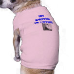 my button is off!!!!!!! doggie tee