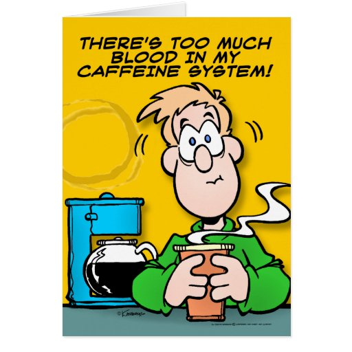 My Caffeine System Card