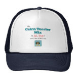 My Cairn Terrier Mix is All That! Hats