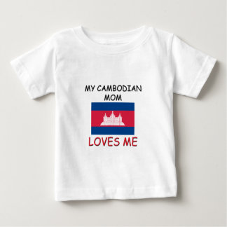 My Cambodian Mom Loves Me T Shirt