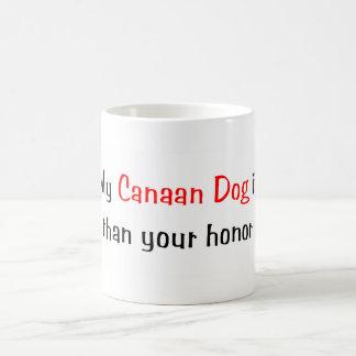 My Canaan Dog is smarter... Mug