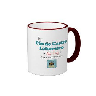 My Cao de Castro Laboreiro is All That! Ringer Coffee Mug