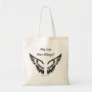 My Car Has Wings! Tote Bag