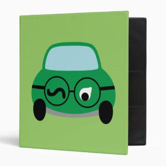 My Car Is Smart 3 Ring Binder