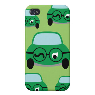 My Car Is Smart Cover For iPhone 4