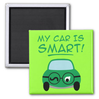 My Car Is Smart Magnet