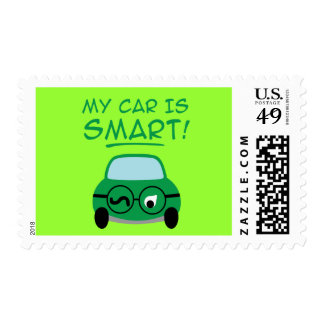 My Car Is Smart Stamps
