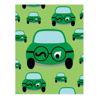 My Car Is Smart Postcards