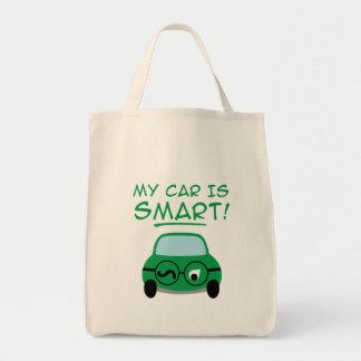 My Car Is Smart Tote Bag