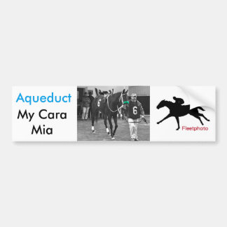 My Cara Mia Bumper Sticker
