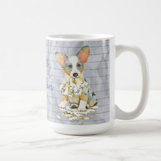 My Cardigan Welsh Corgi Ate my Lesson Plan Coffee Mug