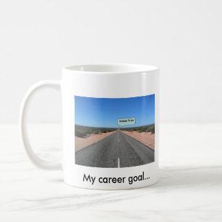 My career goal... Nobel prize            ... Mug