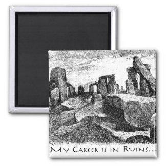 My Career Is In Ruins: Stonehenge Magnet