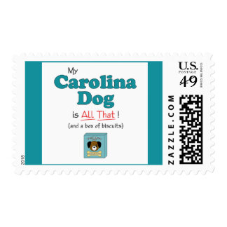 My Carolina Dog is All That! Postage