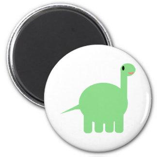 my cartoon dinosaur 2 inch round magnet